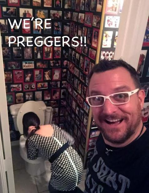 Pregnant Announcement