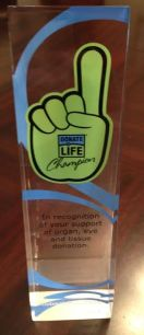Website life gift award