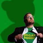 Robert Super Hero Organ Donor
