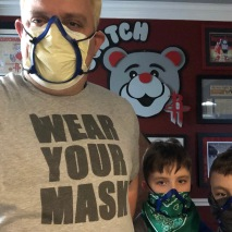 Robert Wear Your Mask 4